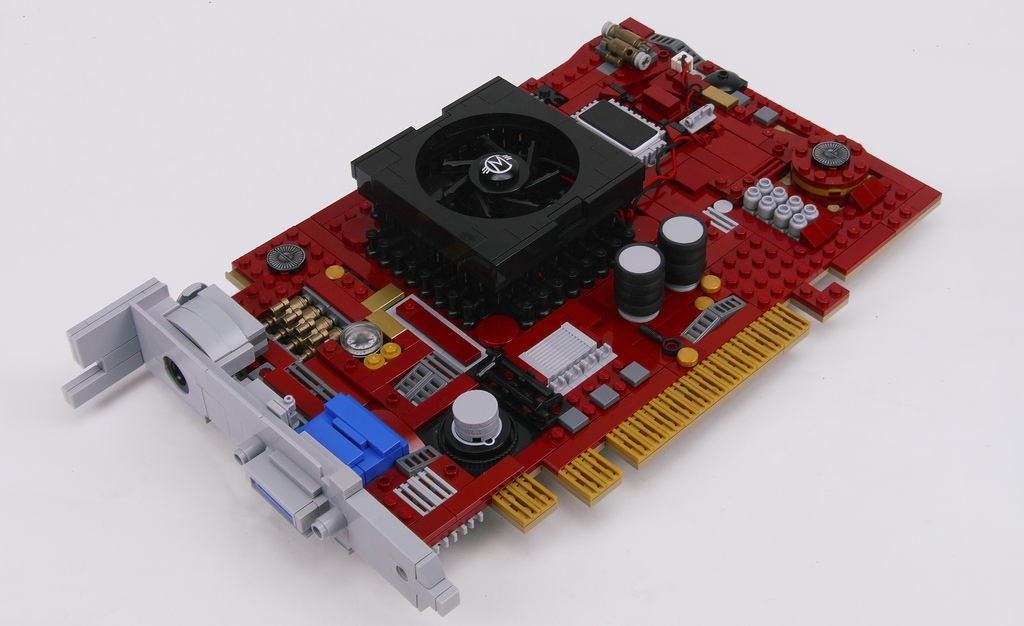 Lego Video Card Looks Like the Real Thing