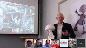 Robot hacks 21st century robot