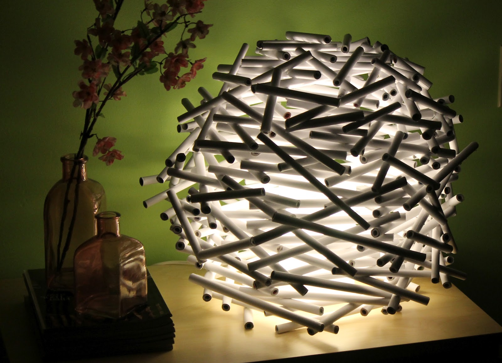 Bird's Nest Lamp