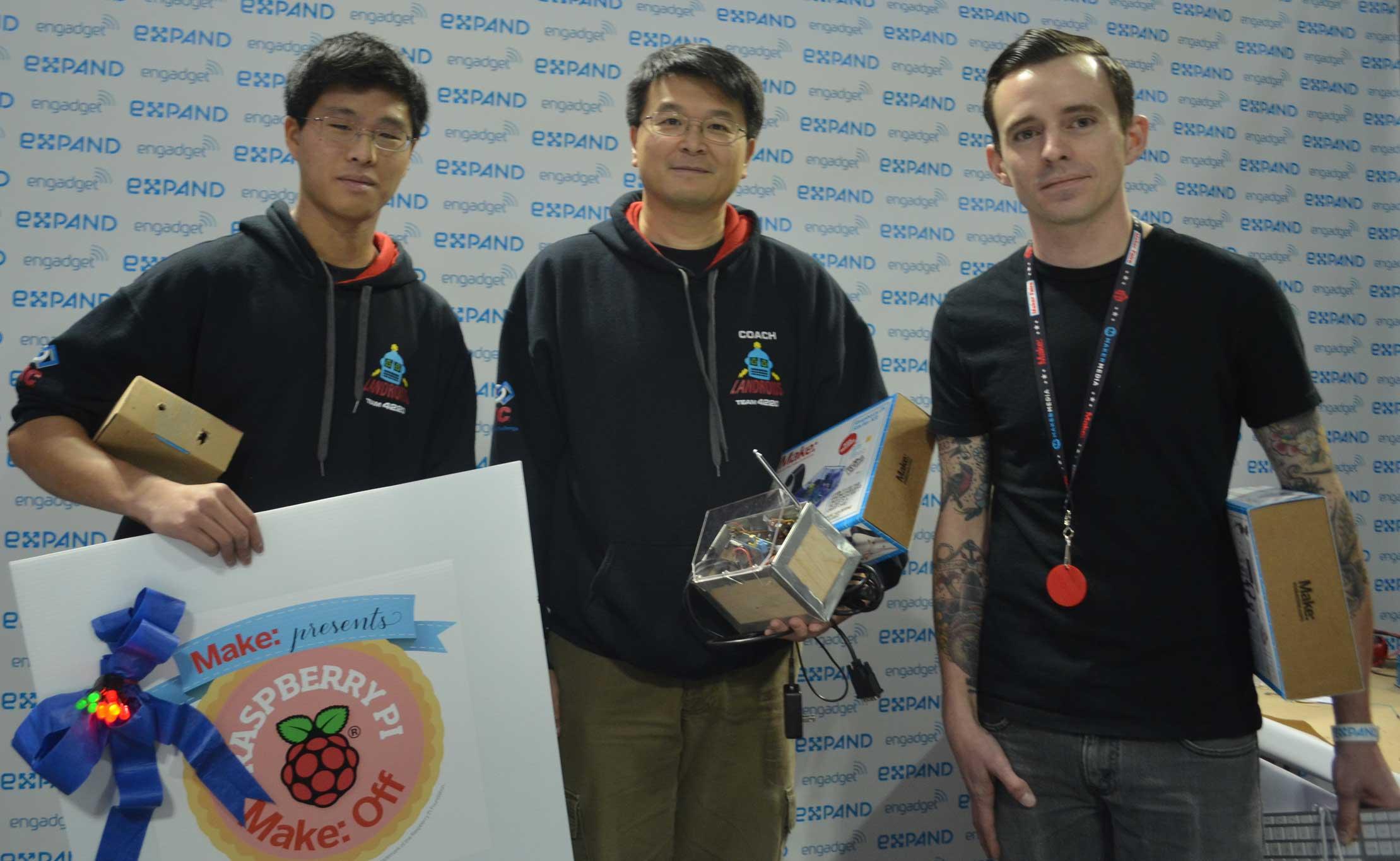 Sea Slugs Take the Title at Inaugural Raspberry Pi Make: Off