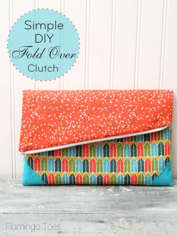 How-To: Simple Fold-Over Clutch