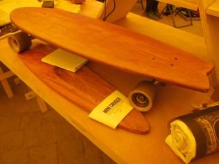 Designer Benedicto Lopez' longboards