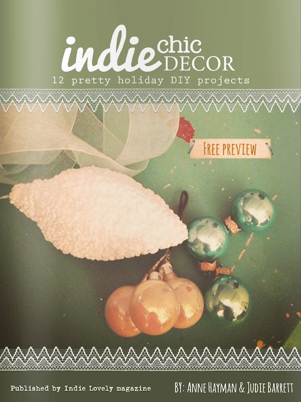 Holiday Inspiration: Indie Chic Decor Ebook from Indie Lovely Magazine