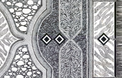 Carpet no°4 detail