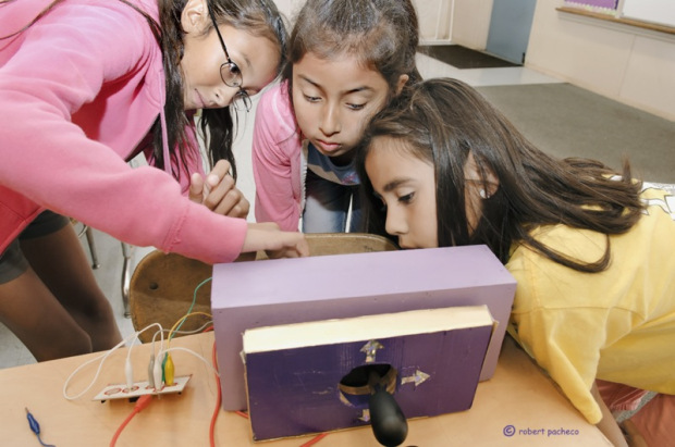 Encouraging Girls to Hack and Make