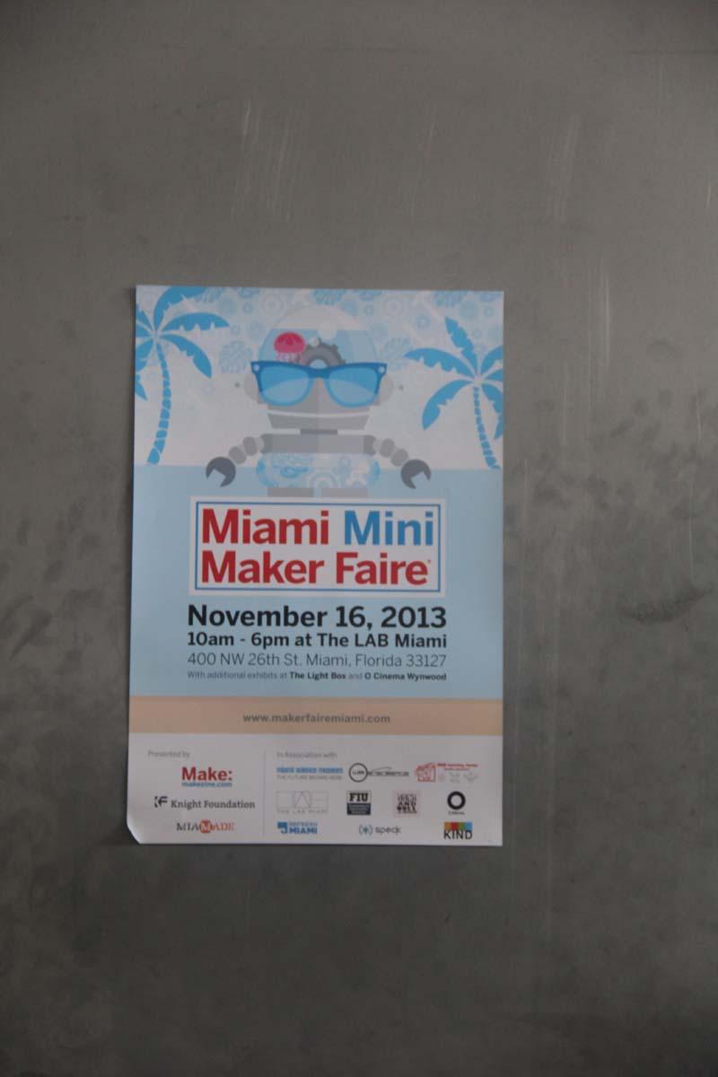 Miami Mini Maker Faire 2013