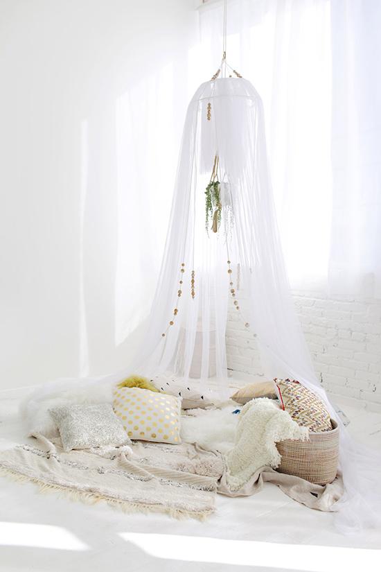 Make A Napping Tent
