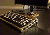 The brass keyboard