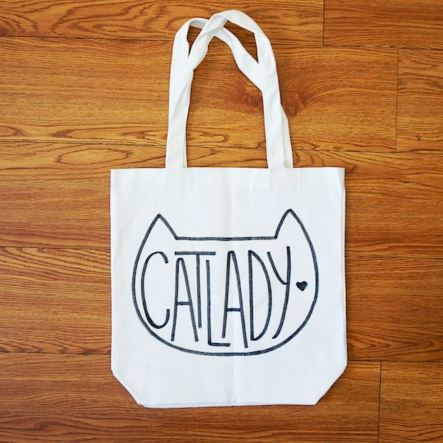 How-To: Cat Lady Tote Bag