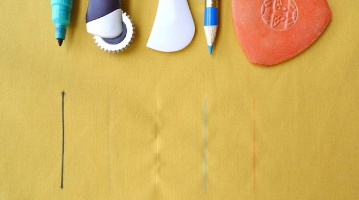Sewing Basics: Marking and Cutting Fabric