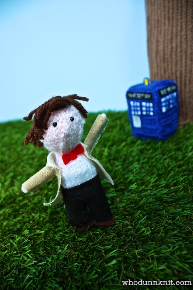 Who-dunnknit: A Woolly Celebration of 50 Years of Doctor Who