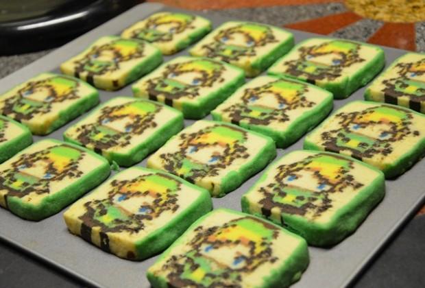 How-To: Pixelated Zelda Cookies