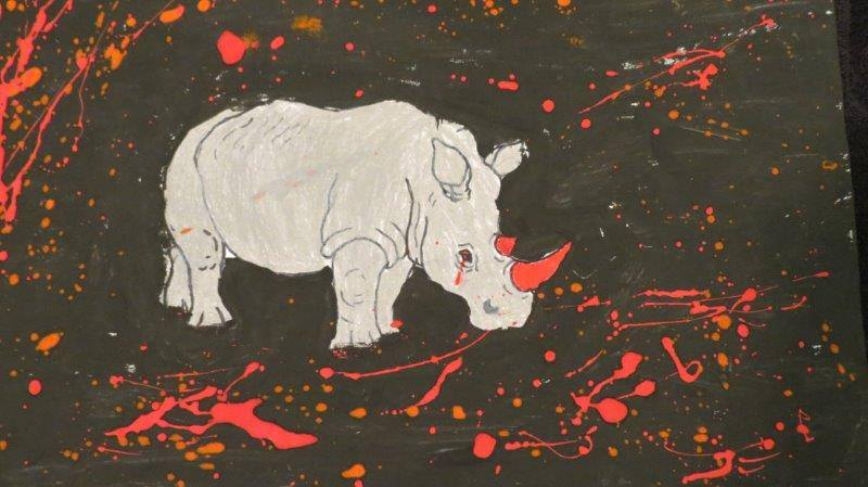For Mandela: South African Children's Art and Song as Protest Against Poaching