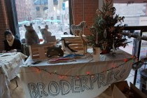 Borderpress will return this year with their silkscreened animal pillows.