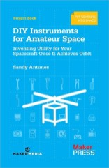 This book on Instruments for Amateur Space explores what can you measure, and what are your limits when orbiting in space. Learn about what physical quantities you can measure and what types of sensors you can buy or build. It covers the 5 essential design limits as well: power, bandwidth, resolution, computing and legal limitations.