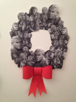 Sometimes it's the simple things that make the biggest crafty impact and 2013 made an indisputably strong finish with this unforgettable Wreath of Khan by Annie Shapiro.