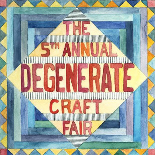 Degenerate Craft Fair returns to NYC's DCTV on Dec. 14 & 15