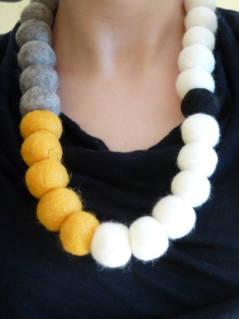 How-To: Felted Bead Necklace