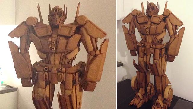 Optimus Prime Gingerbread Man