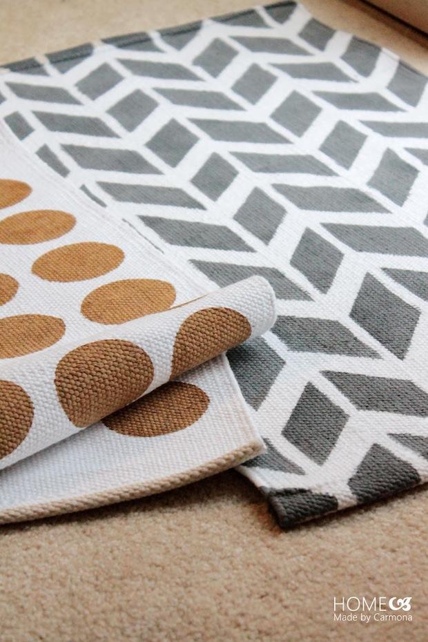 How-To: Hand-Printed Lulu & Georgia-Inspired Rugs