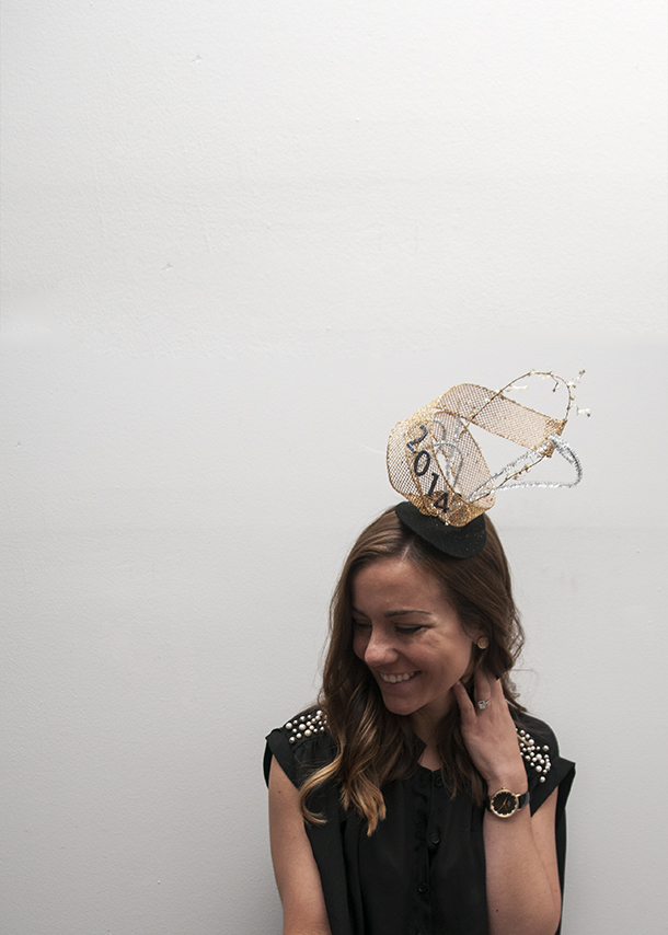 How-To: Fabulous New Year's Eve Party Hat