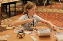 Super Awesome Sylvia building a SumoBot.
