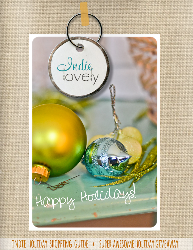 The Holiday 2013 Issue of Indie Lovely Magazine is Now Available