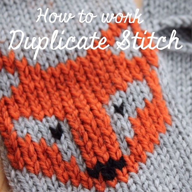 Knitting Tip: Add Custom Embroidery to Knits with Duplicate Stitch