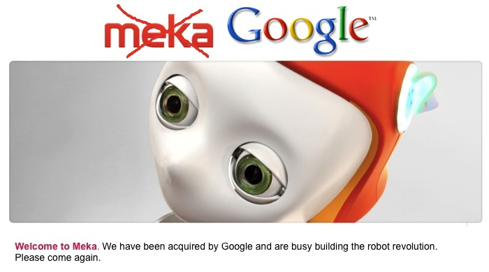 Robots: What's Google up to?