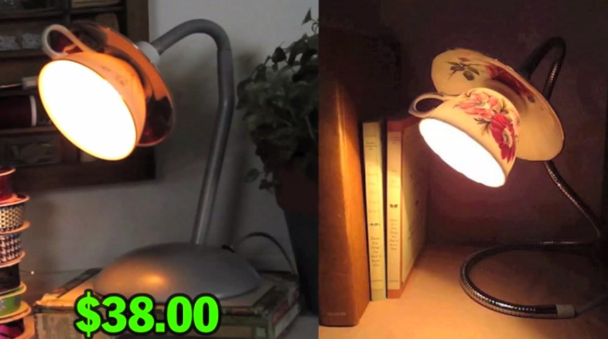 Man vs pin diy tea cup lamp make article featured image arubaitofo Choice Image