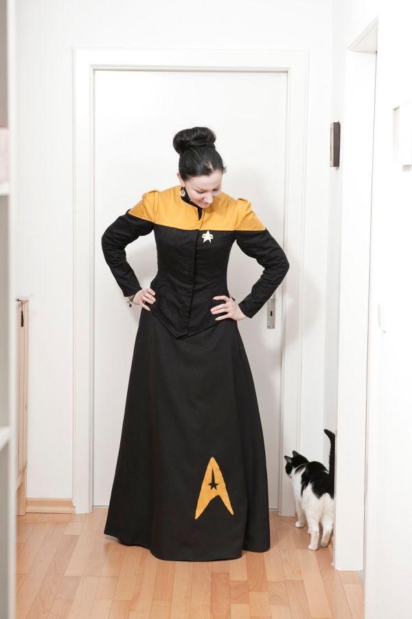 Victorian Style Star Trek Uniforms