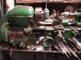 """An old South Bend lathe with a 9"""" swing. I worked lathes identical to this for about 15 years in my distant past, sigh...."""