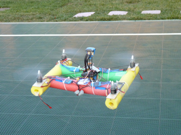 Behold, The Noodle Copter!