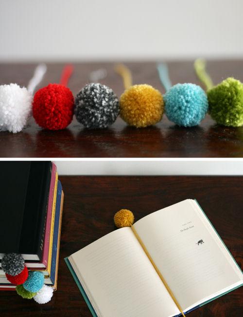 How-To: Pom Pom Bookmark