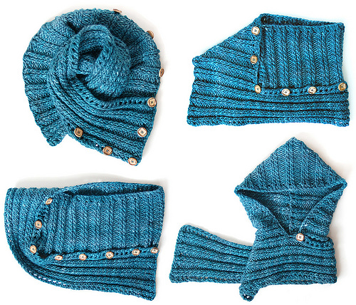 Knit Inspiration: Wizzo, A Multi-Purpose Cowl/Scarf/Hood