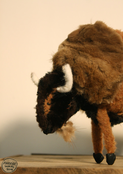 Bison Made From Recycled Fur