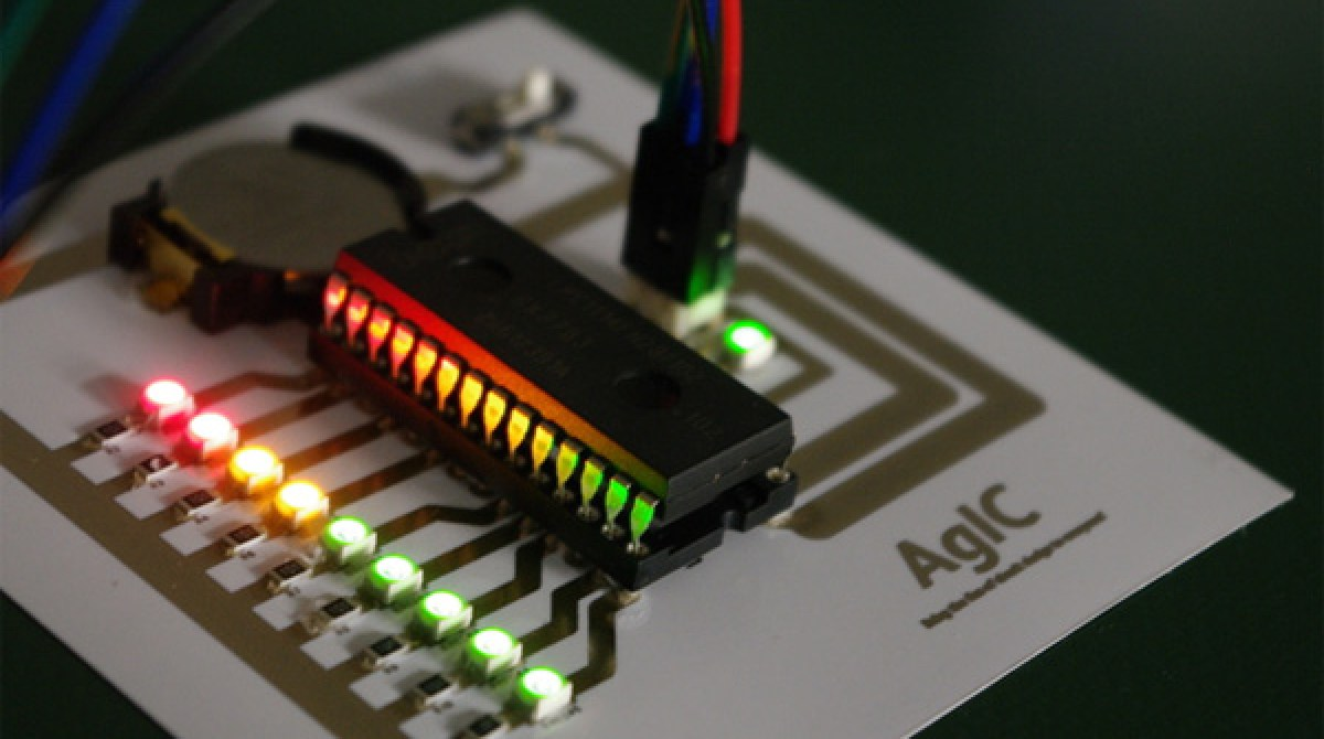 Quickly Prototype Circuits With New Inkjet-Printable Conductive Ink