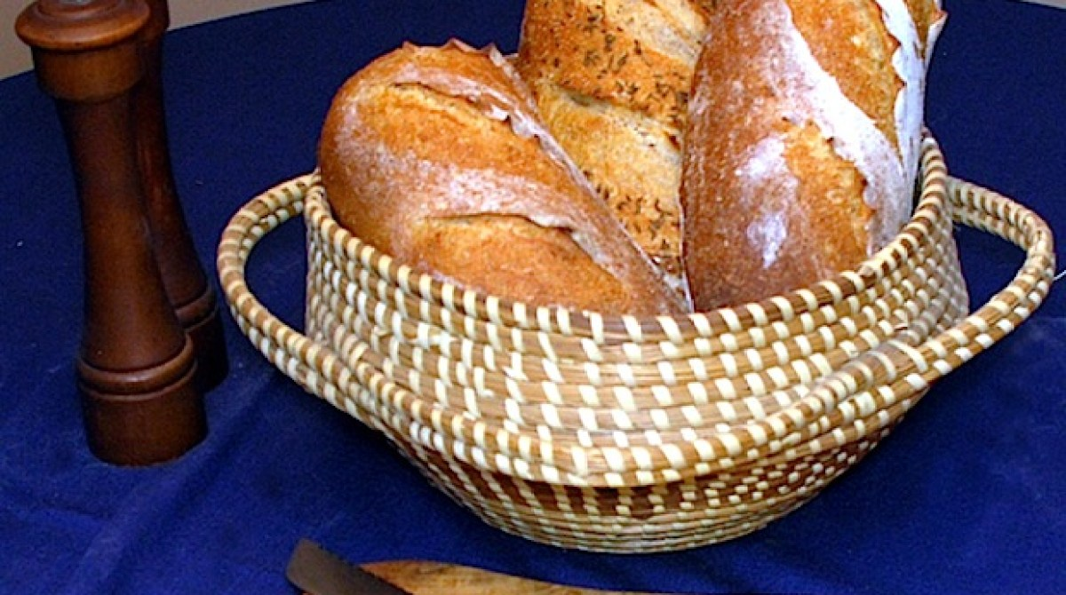 Flashback: Three-Flour Rustic Bread