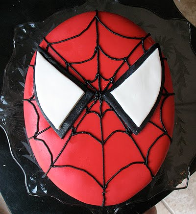 Bake It: How to Decorate a Spider-Man Cake