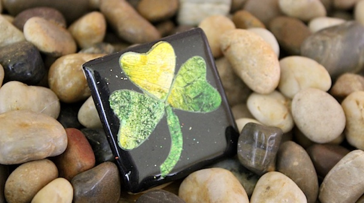 How-To: Polymer Clay Shamrock Pin