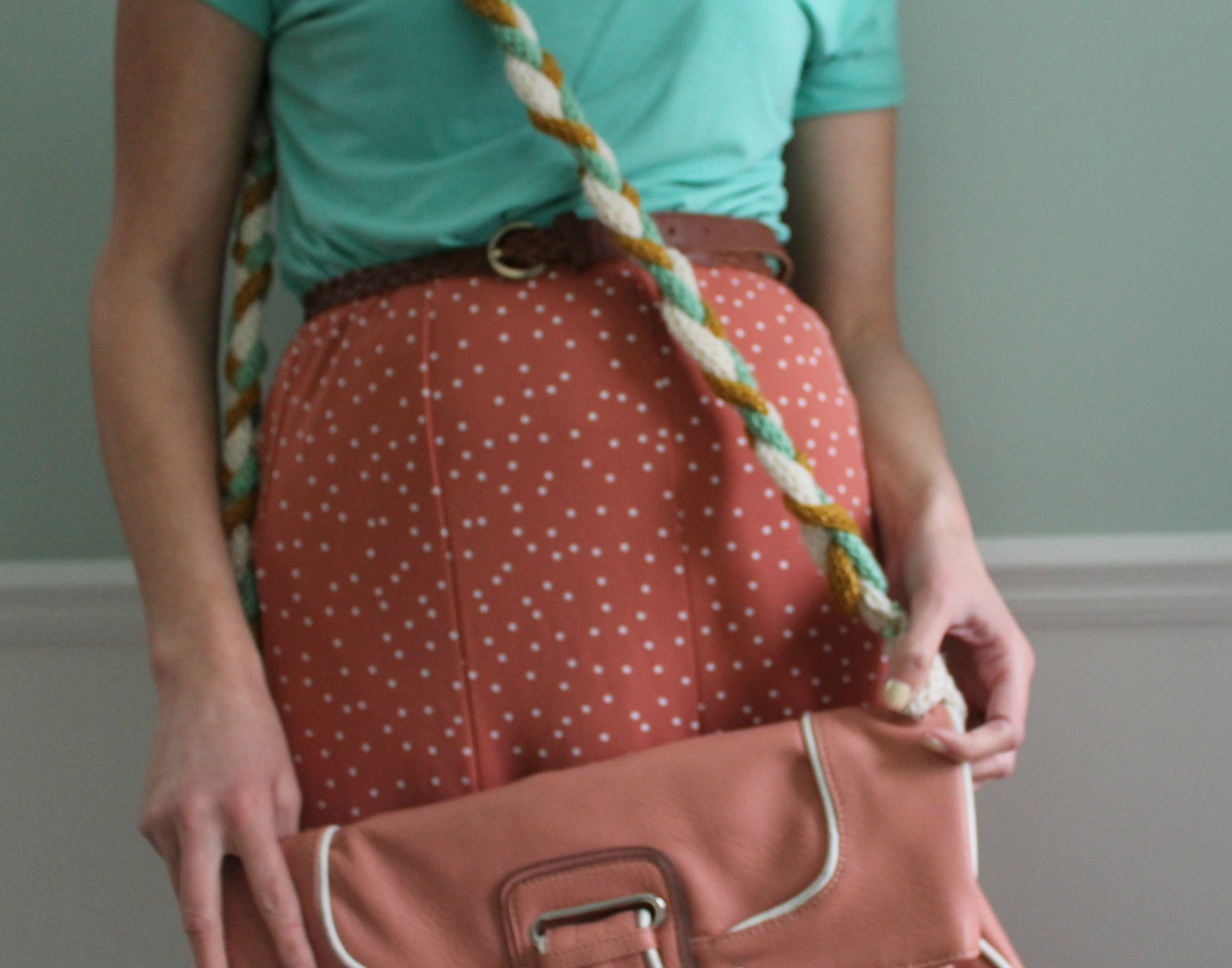 How-To: Braided Purse Strap
