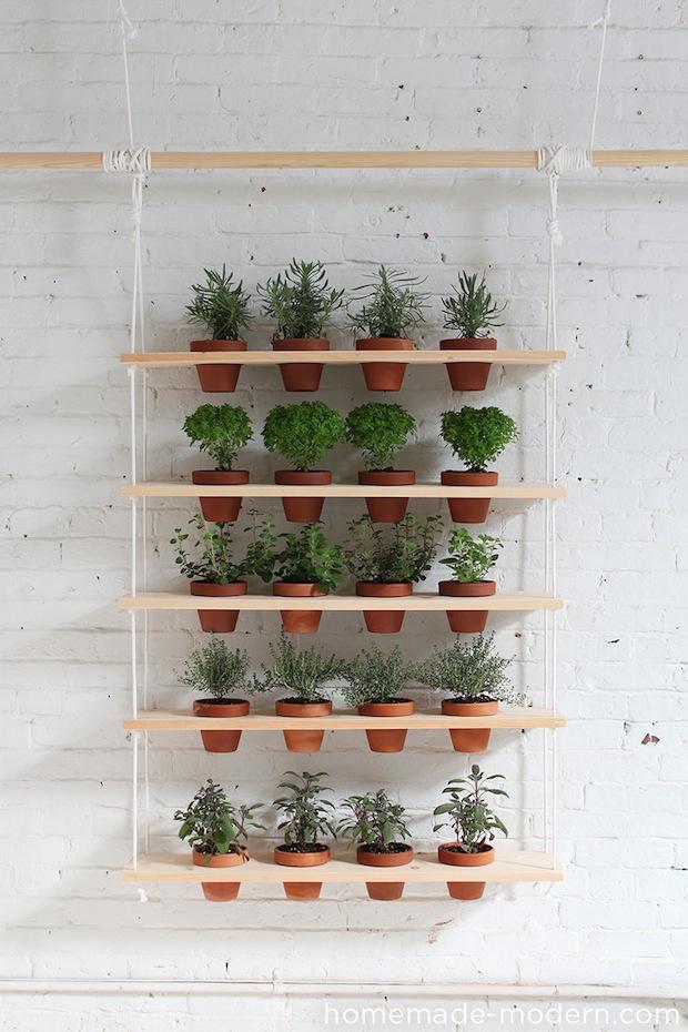How-To: DIY Hanging Garden