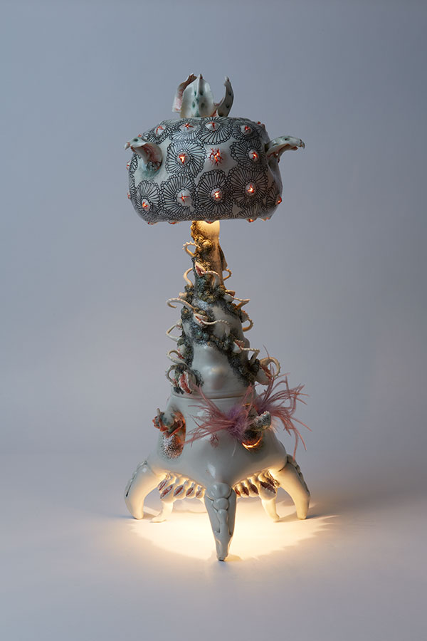 Other Worldly Porcelain Lamps