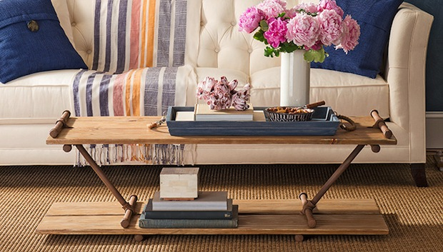 How-To: Pipe Frame Coffee Table