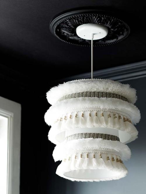 Moroccan Blanket Inspired Pendant Lamp
