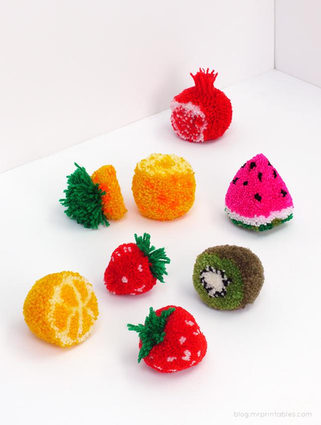 How-To: Pom Pom Fruit