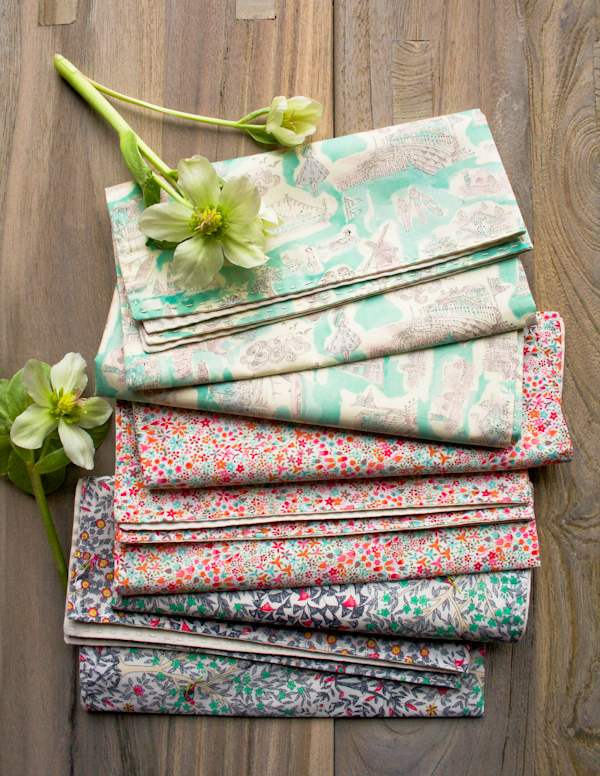 How-To: Springtime Running Stitch Napkins