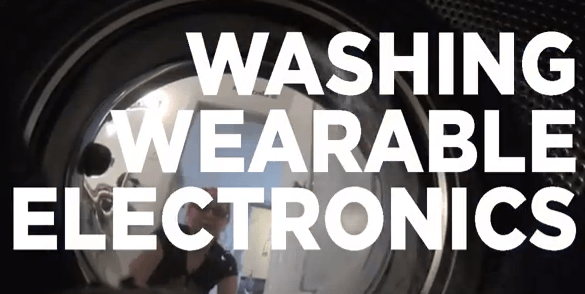 How-To: Wash Wearable Electronics