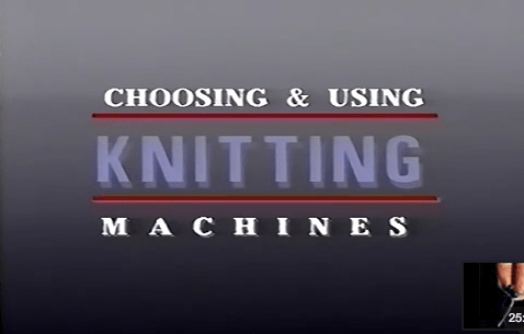 How-To: Choose and Use a Knitting Machine