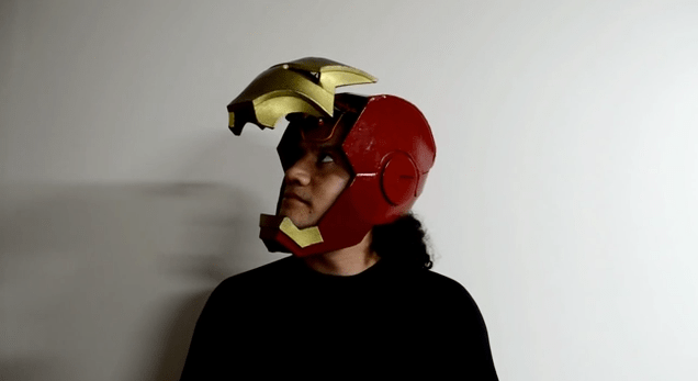 How Luis of Fab Lab Lima Made a Functional Ironman Mask